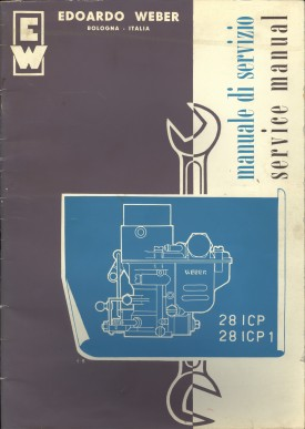 Weber 28 ICP Service Manual